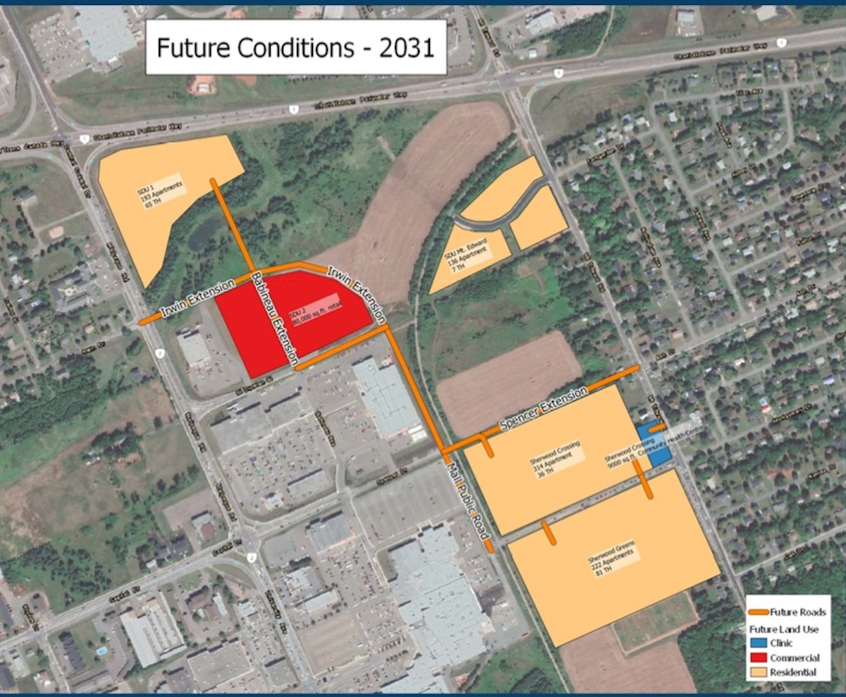 West Royalty Traffic Plan and proposed Sherwood Crossingdevelopment